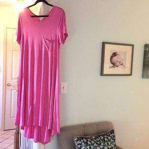 PINK LuLaRoe Carly Dress
